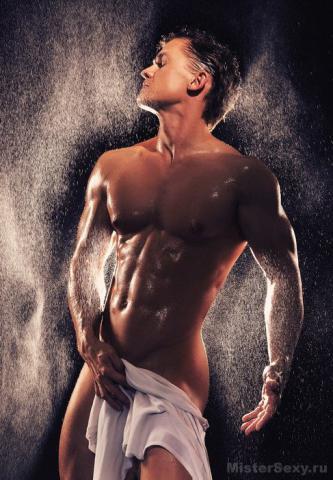 Мужик любит в душе
