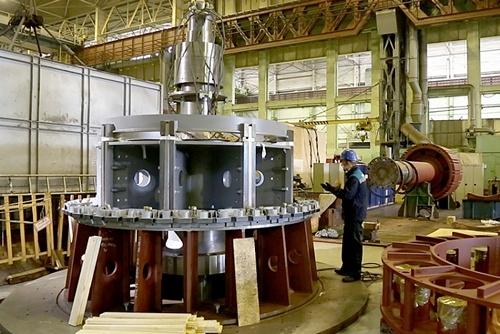 Силовые машины изготовили вторую турбину для Белорусской АЭС