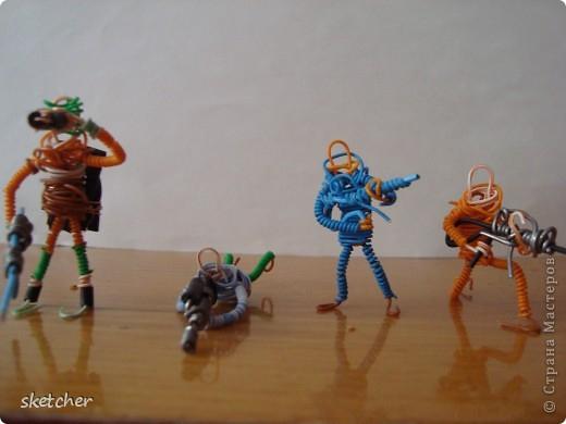 Как сделать игрушечные солдатики