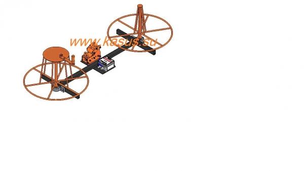 станки фотография другие станки и оборудование Станок для перемотки кабеля/провода СП 0,5-30-Р, станки для перемотки.