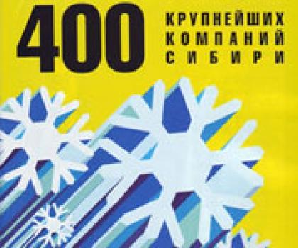 Представляем читателям очередной рейтинг 400 крупнейших предприятий урала и западной сибири по итогам 2010 года
