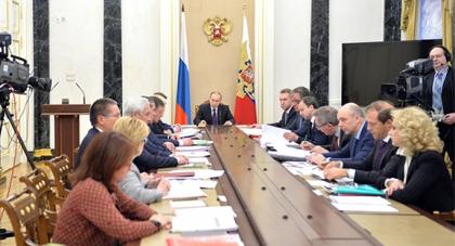Денис Мантуров принял участие в совещании президента России с членами правительства
