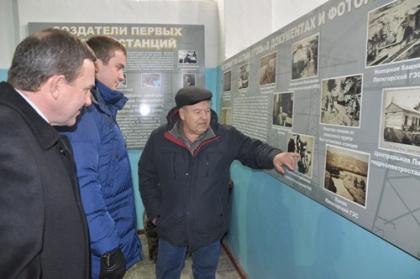 Первую в России ГЭС  Белый Уголь посетил министр энергетики, промышленности и связи Ставропольского края