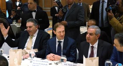 Денис Мантуров встретился с министром промышленности и торговли Египта Тареком Кабилем
