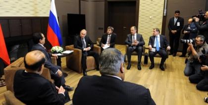 Александр Новак принял участие во встрече Президента РФ Владимира Путина с Королём Бахрейна Хамадом бен Исой аль-Халифой