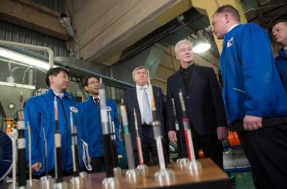 Всего несколько часов назад, мэр Москвы Сергей Собянин посетил известное предприятие по выпуску кабельно-проводниковой продукции ГК Москабельмет