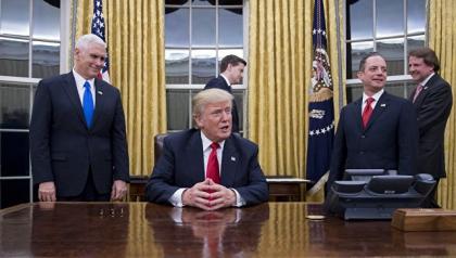 Трамп подписал указ овыходе США изТранстихоокеанского финансового партнерства