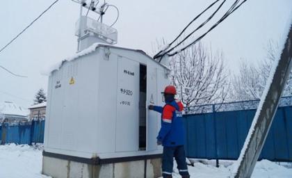 Бригады Кубаньэнерго восстанавливают нарушенное непогодой энергоснабжение покупателей