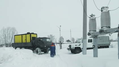 Все дороги Алтайского края закрыты из-за снега