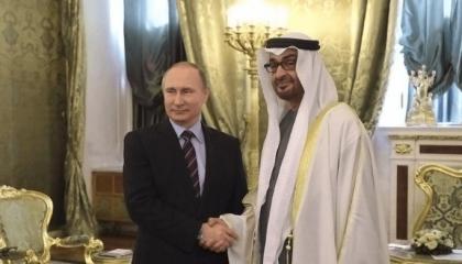 Денис Мантуров принял участие в официальной встрече Владимира Путина с Наследным принцем Абу-Даби Мухаммедом Аль Нахайяном