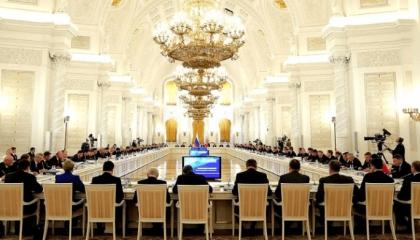 Руководитель Ставрополья Владимир Владимиров поучаствовал в совещании государственного совета РФ