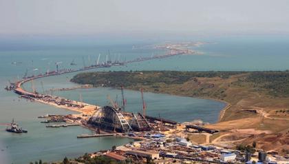 Киев потребует компенсацию убытков застроительство Керченского моста