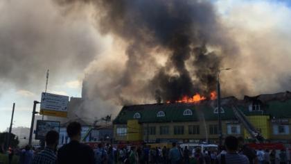 СМИ назвали предварительную причину пожара в ТЦ на Таганской