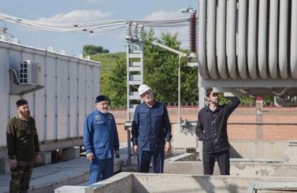 В Чеченэнерго обсудили ход строительства подстанции Курчалой