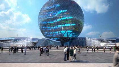 Применение инновационных решений Dow на основе силикона при строительстве Астана ЭКСПО-2017