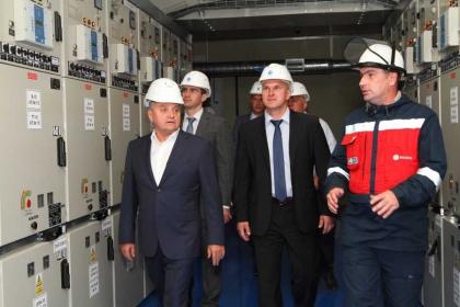 Заместитель министра энергетики РФ Андрей Черезов положительно оценил подготовку энергообъектов МРСК Юга к футбольному чемпионату