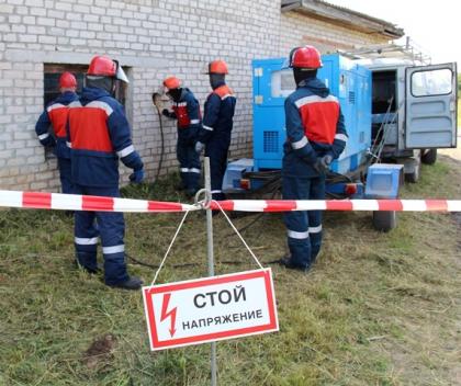 Вологдаэнерго, Архэнерго и Комиэнерго отработали схему взаимодействия по предупреждению и ликвидации последствий массовых отключений