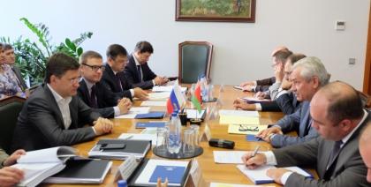 Александр Новак провел встречу с Министром энергетики Республики Беларусь Владимиром Потупчиком