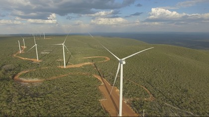 Enel starts operations of Delfina wind farm in Brazil