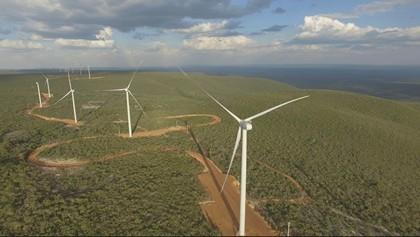 Enel ввела в эксплуатацию новый ветропарк Delfina в Бразилии