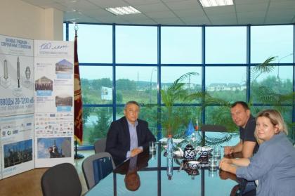 Визит партнера компании Изолятор в Казахстане