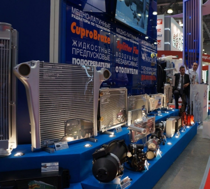 ШААЗ и Оренбургский радиатор представляют новинки на Comtrans 2017