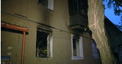 В Губахе старая электропроводка стала причиной пожара в квартире