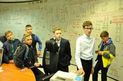 Школьники посетили Центр управления сетями Новгородэнерго