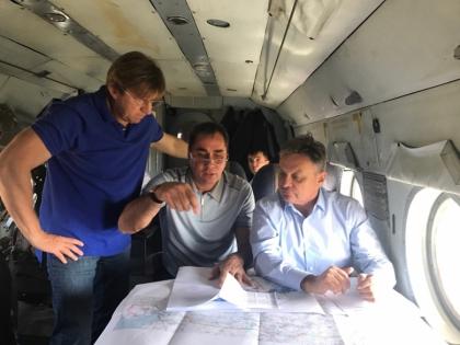 Андрей Черезов проинспектировал ход строительства электросетевых объектов на территории Ростовской области и Краснодарского края