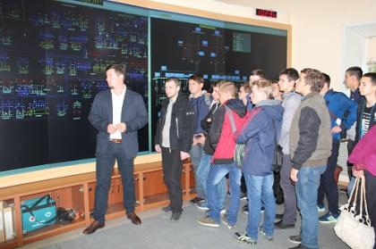 Тверьэнерго провел день открытых дверей для студентов Тверского политехнического колледжа