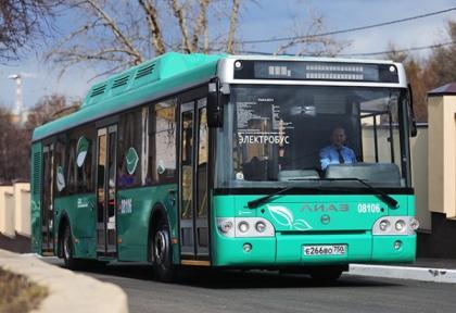 Власти Москвы решили закупить 300 электробусов
