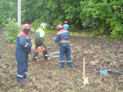 В Липецкой области прошло совместное учение по ликвидации массовых отключений электроэнергии организованное ПАО МРСК Центра - Липецкэнерго