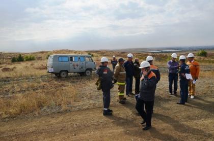 На прошлой неделе сотрудники Орской ТЭЦ-1 поучаствовали в противоаварийной тренировке.