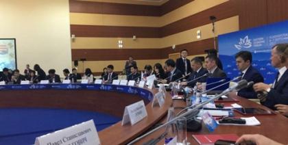 Антон Инюцын выступил на 16-м заседании Российско-Корейской Межправительственной комиссии