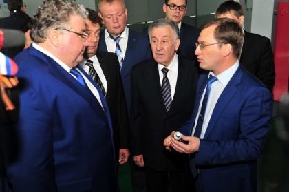 Врио Главы Республики Мордовия В.Д. Волков осмотрел новый цех ООО ЭМ-КАБЕЛЬ