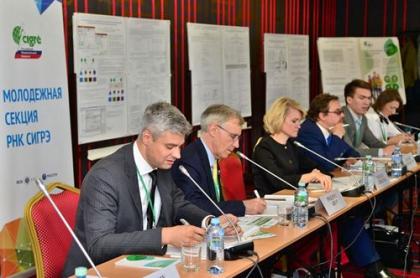Генеральный секретарь СИГРЭ провел встречу с молодыми российскими учеными