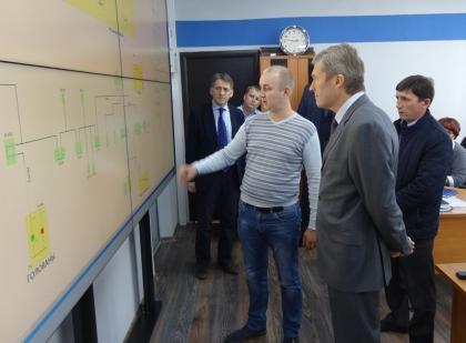 В Орджоникидзевском районе электрических сетей Пермэнерго установлен диспетчерский щит нового поколения