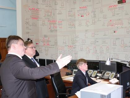 Губернатор Ивановской области Павел Коньков посетил Центр управления сетями филиала Ивэнерго