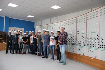 Студенты Самарского государственного технического университета посетили главную подстанцию Самарской энергосистемы