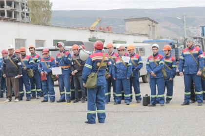 В Махачкале прошли командно-штабные учения энергетиков