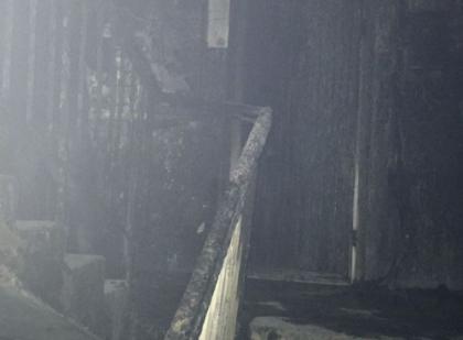 На Сортировке из-за загоревшегося электрощитка в подъезде среди ночи эвакуировали жильцов