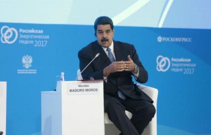 Президент Венесуэлы Николас Мадуро выступил на панельной дискуссии Нефть и геополитика: причины и последствия