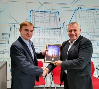 ABB получила Сертификат участника Российского ветроэнергетического рынка и члена Российской Ассоциации Ветроиндустрии (РАВИ)