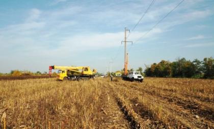 120 км высоковольтных линий отремонтировали специалисты Кубаньэнерго в Тимашевском энергорайоне