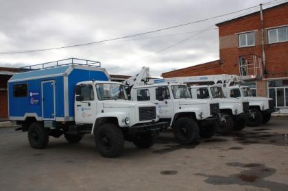 Автопарк филиала Удмуртэнерго пополнился новой спецтехникой