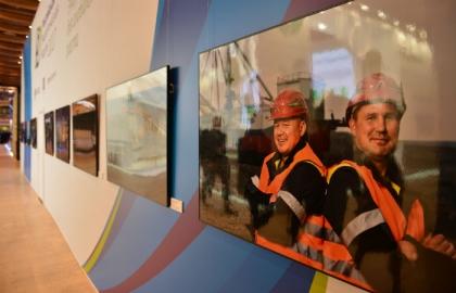 Фотовыставка Гордость России – шахтеры представлена на РЭН