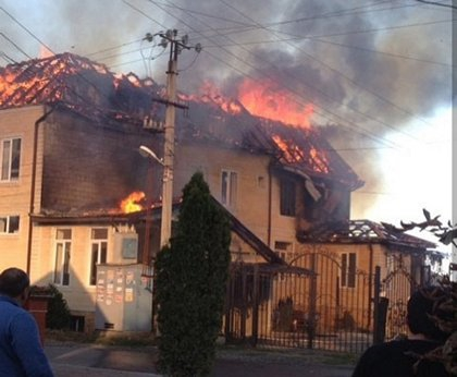 Пожар в доме торжеств в Ингушетии произошел из-за замыкания электропроводки