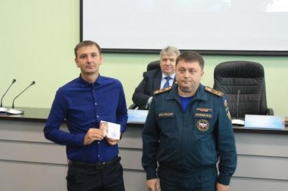 Сотрудников ульяновского филиала ПАО МРСК Волги наградили медалями МЧС России