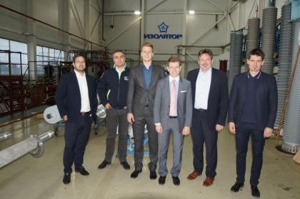 Визит представителей концерна Siemens AG