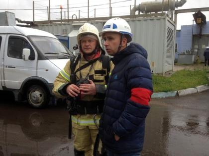 МЧС ликвидировало условный пожар на Кировской ТЭЦ-3